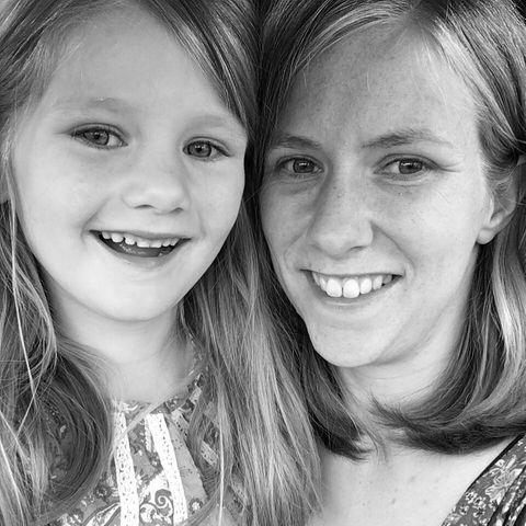 """""""The Mama Book""""-Bloggerin Zoe Powell (†29) und ihre Tochter Phoebe (†8)"""