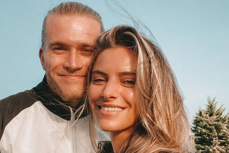 Loris Karius und Sophia Thomalla