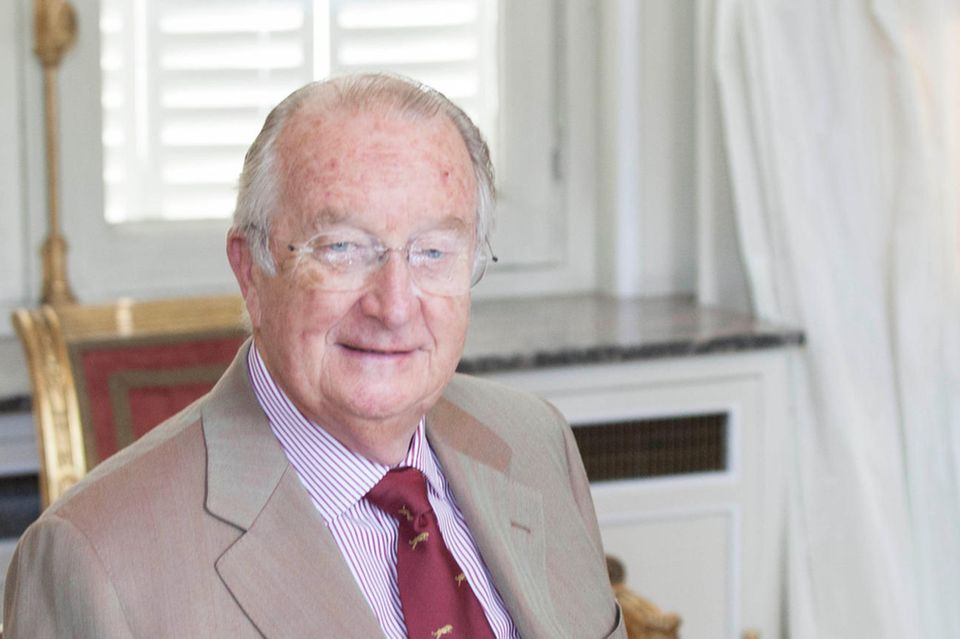Alt-König Albert II. von Belgien