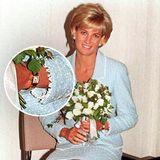 Prinzessin Diana (†36) zeigt sich 1997 mit der Uhr von Cartier.