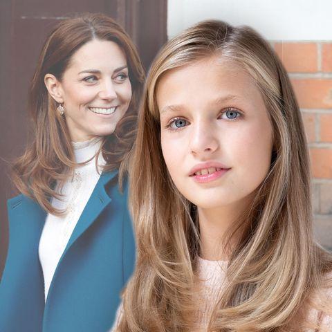 Herzogin Kate + Prinzessin Leonor