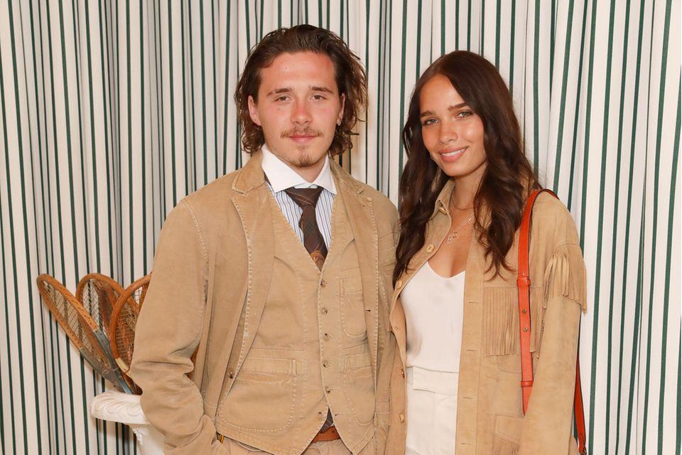 Brooklyn Beckham und Hana Cross gehen seit September 2019 getrennte Wege. Jetzt soll sich das Model einen anderen Promi-Sohn geschnappt haben.
