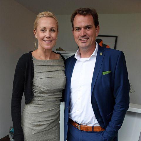 """Bettina Wulff und Jan-Henrik Behnken beim """"Audi Ascot Race Day"""" im August 2019. Jetzt gehen sie getrennte Wege."""