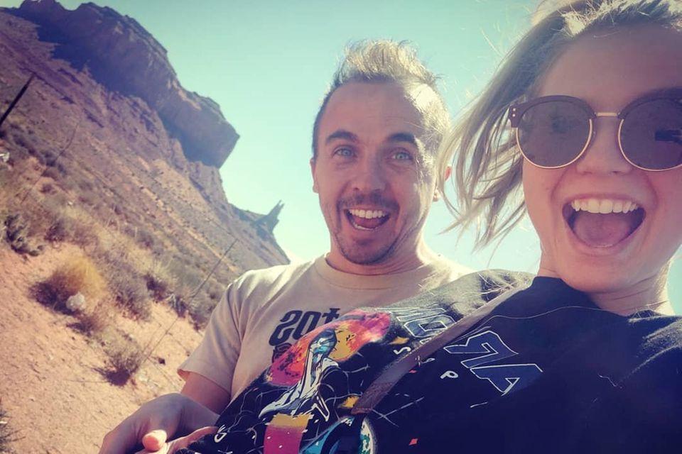 Frankie Muniz und Paige Price