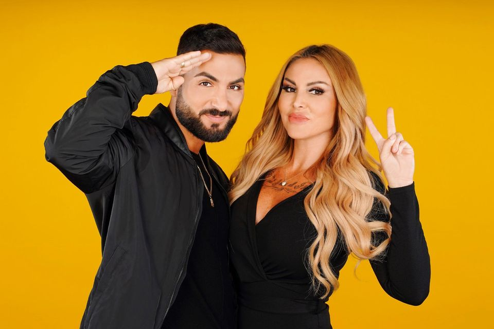 """Lisha und Lou bei """"Das Sommerhaus der Stars"""" auf RTL und TVNow."""