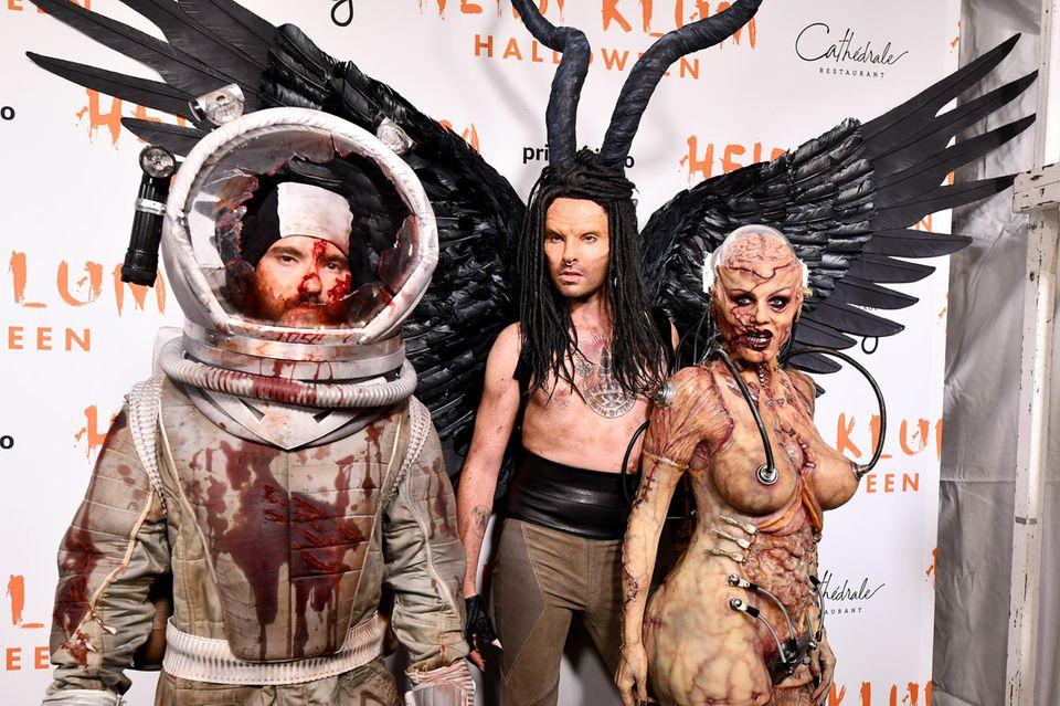 Tom Kaulitz, Bill Kaulitz, Heidi Klum