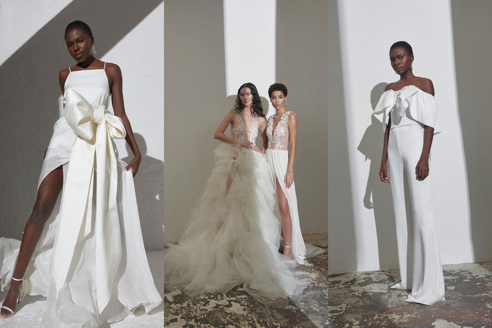 """Die Looks aus der """"Bridal Couture""""-Kollektion 2021 von Kaviar Gauche begeistern."""