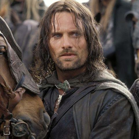 "Viggo Mortensen in der ""Herr der Ringe""-Rolle des Aragorns"