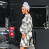 Kelly Rowland hochschwanger