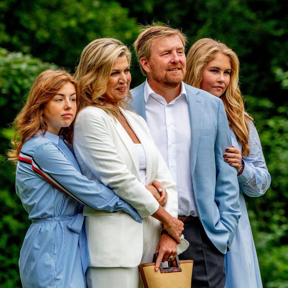 Prinzessin Alexia, Königin Máxima, König Willem-Alexander und Prinzessin Amalia