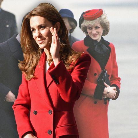 Herzogin Catherine, Prinzessin Diana