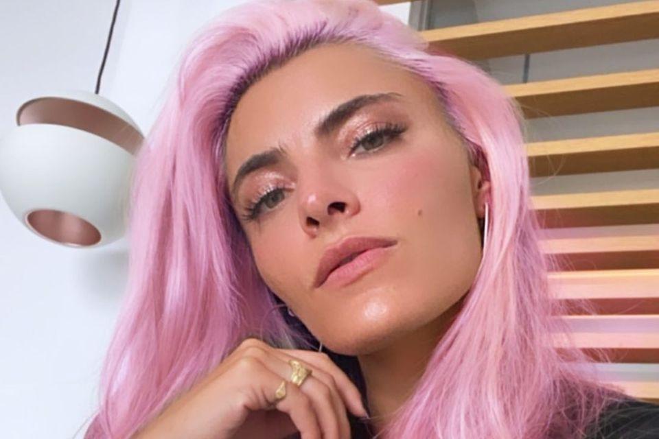 Sophia Thomalla ist jetzt pink