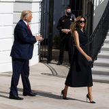Melania Trump stiehlt Doanald Trump die Show