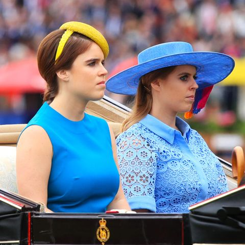 Prinzessin Eugenie und Prinzessin Beatrice