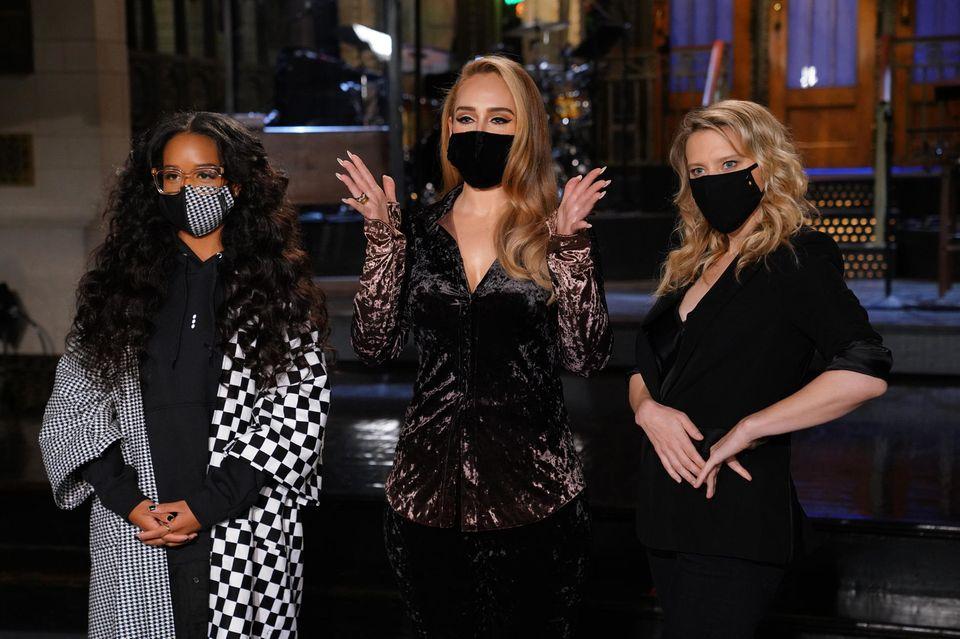 H.E.R., Adele, Kate McKinnon