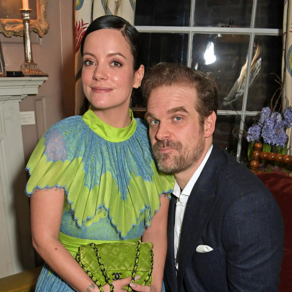 Lily Allen und David Harbour