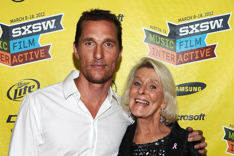 Matthew McConaughey und MutterKay