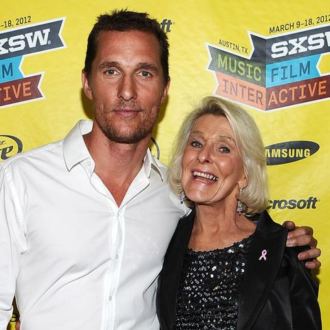 Matthew McConaughey und Mutter Kay