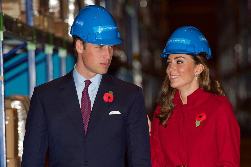 William und Kate bei einem offiziellen Termin in Dänemark, im November 2011