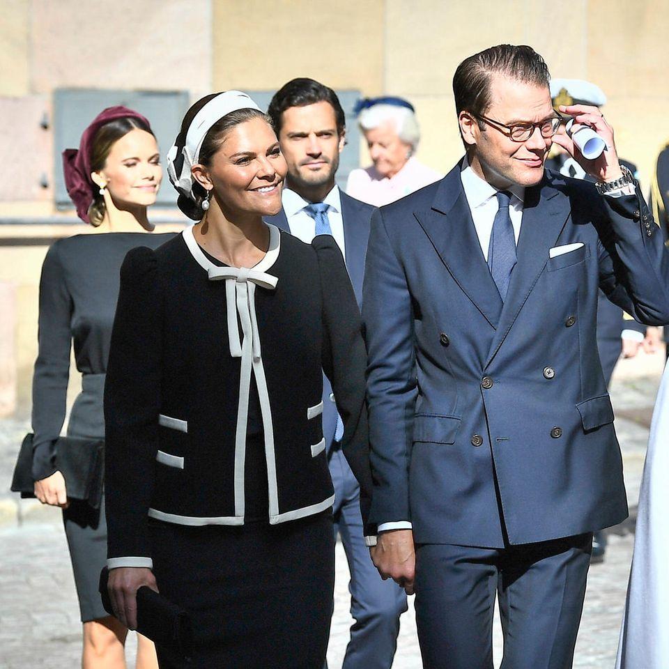 Die schwedische Königsfamilie (Archivbild)