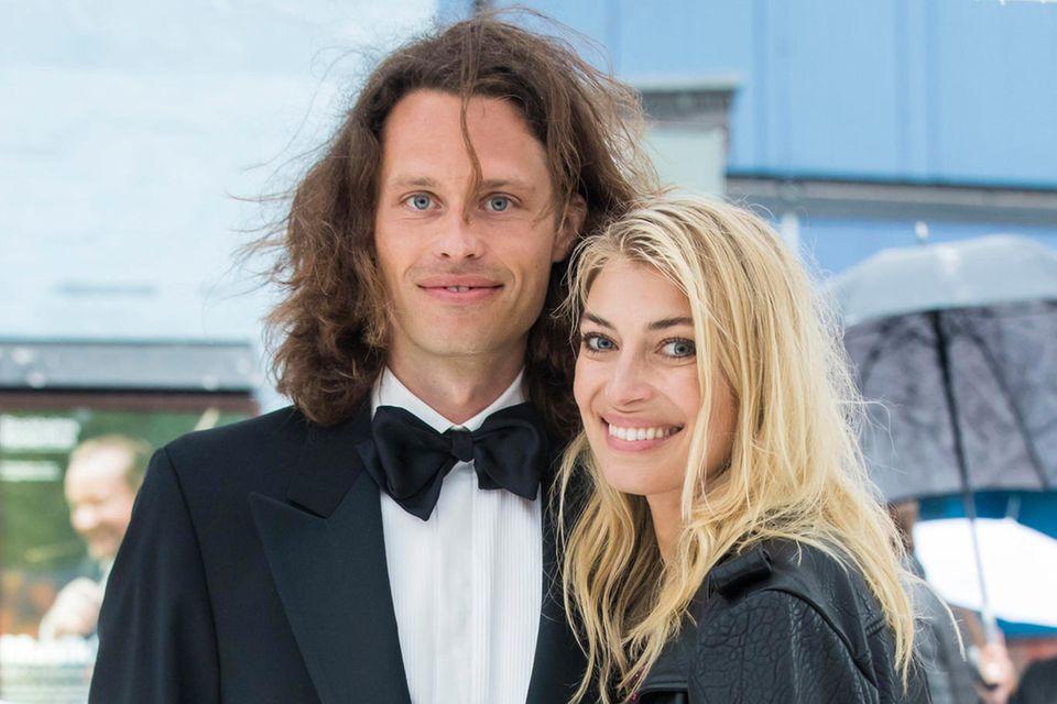 Fredrik von der Esch und Cecilia Forss 2016 bei der Verleihung des Polar Music Prize.