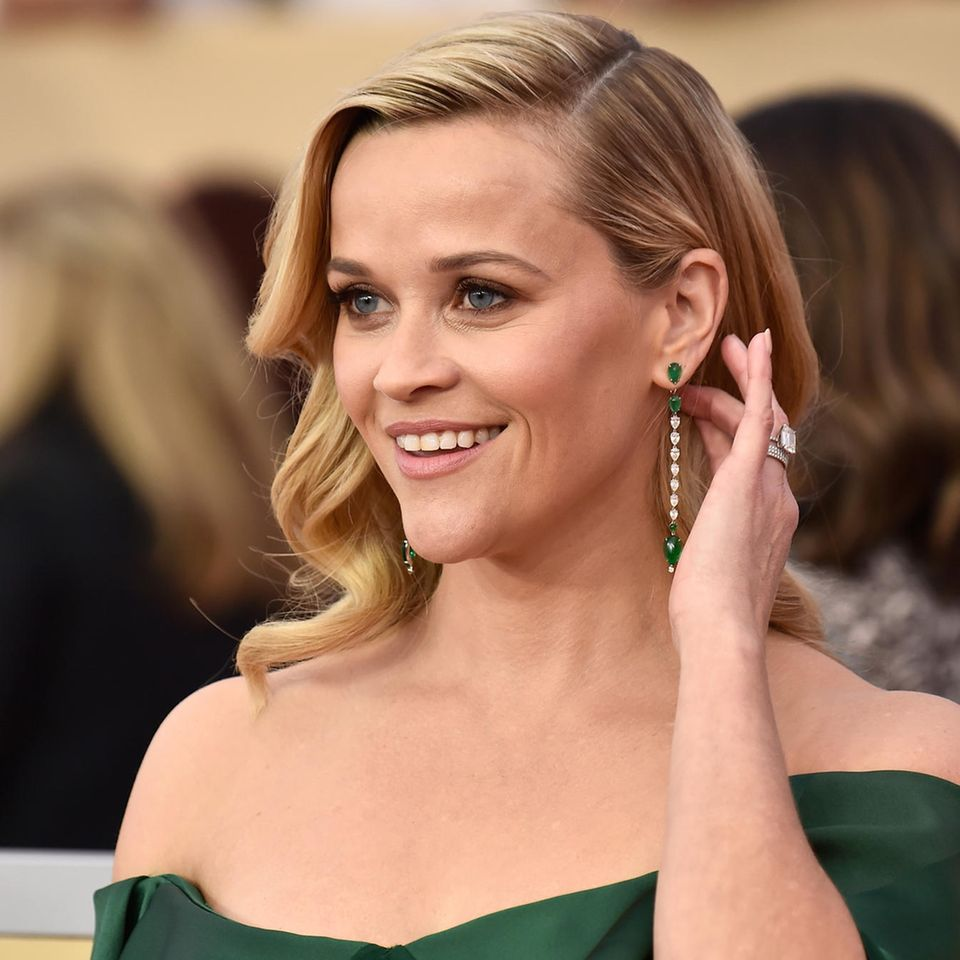 Silvester-Frisuren: Reese Witherspoon mit Hollywood-Wellen