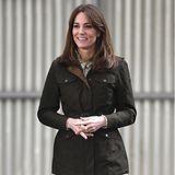 ... während ihrer Irlandreise zusammen mit ihrem Mann Prinz Williamin Stiefeln des Labels. Ebenfalls ein großer Fan der Galway Lederstiefel ist ...