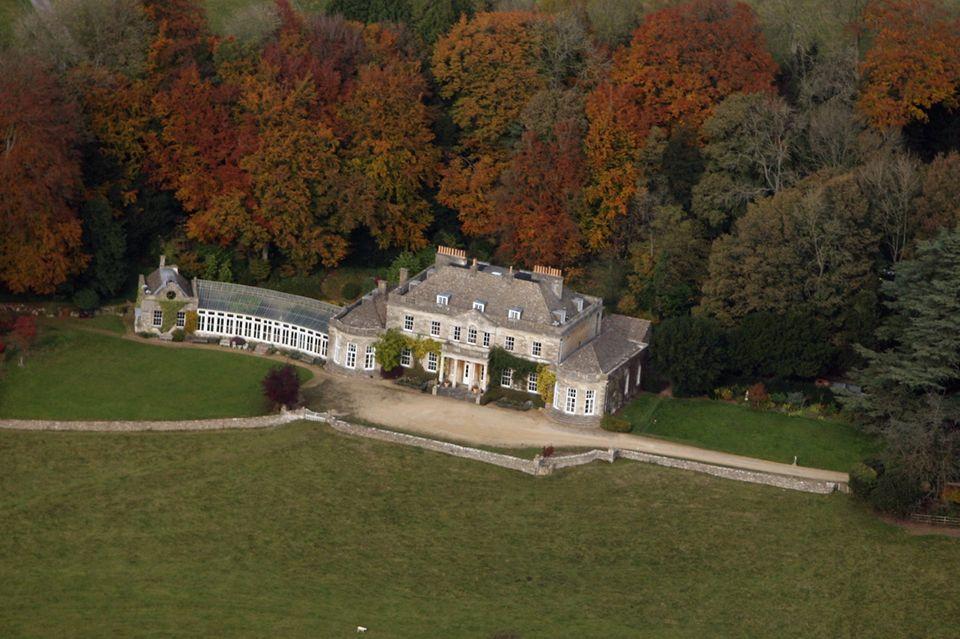 Prinzessin Annes Grundstück auf Gatcombe Park in Gloucestershire