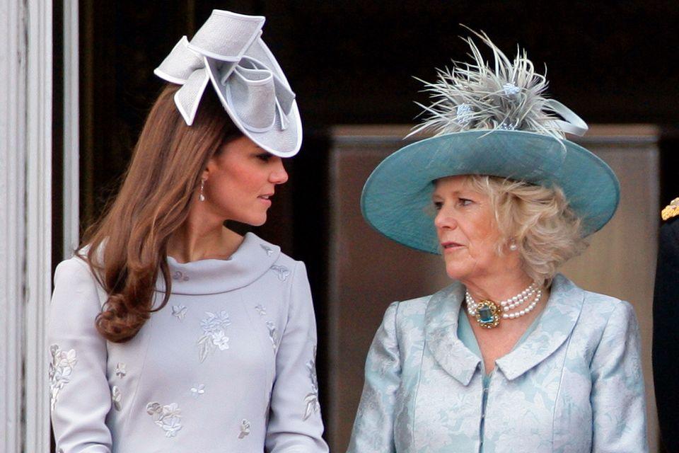 Herzogin Catherine, Herzogin Camilla