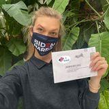 Model Karlie Kloss hat ihre Stimme per Briefwahl abgegeben.