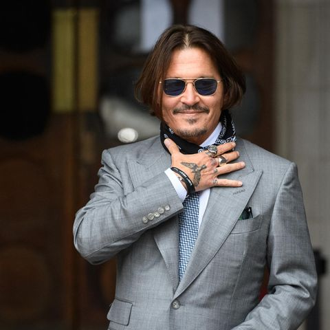 Johnny Depp im Juli 2020 beim Gerichtstermin in London