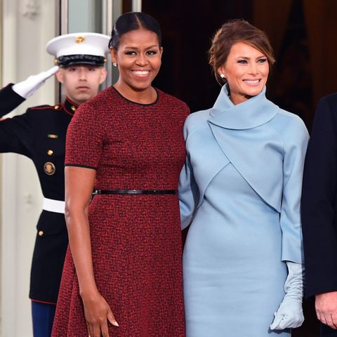 Michelle Obama + Melania Trump