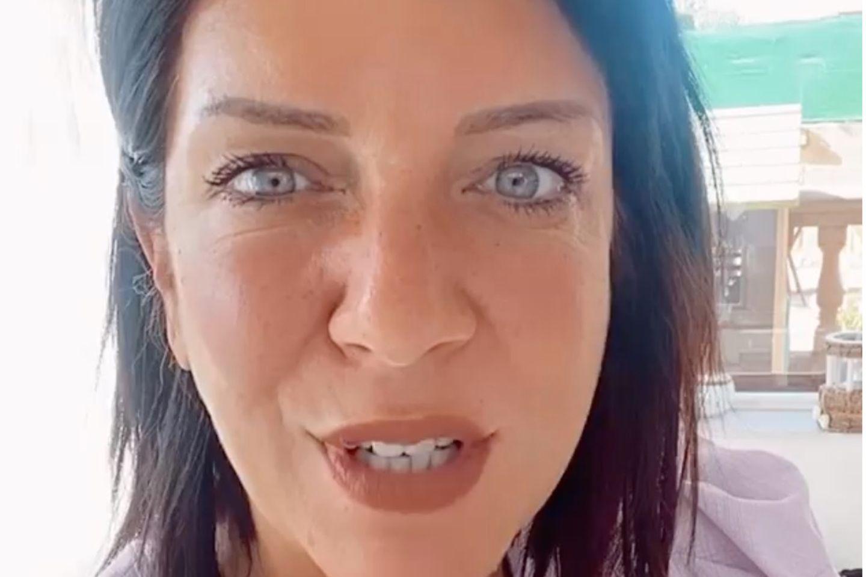 Daniela Büchner ärgert sich.