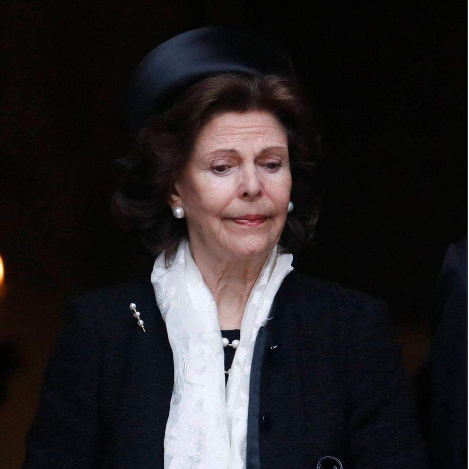 Königin Silvia trauert.