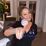 Mariah Carey macht's vor! Die Diva hat ihre Stimme schon vor dem 3. November abgegeben und animiert ihre fast 10 Millionen Instagram-Follower, das ebenfalls zu tun. Denn jede Stimme zählt.