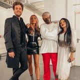 """Bei der """"Luke Halloween Gamenight"""" wird's schaurig schön. Luke Mockridge, Sophia Thomalla, Ross Anthony und Evelyn Burdecki zeigen sich auf Instagram in ihren Kostümen für die Show."""