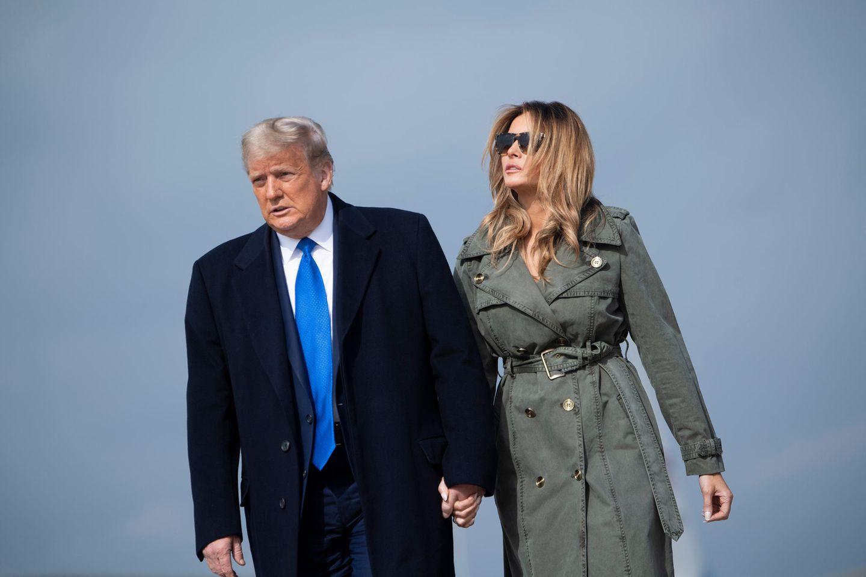 Donald und Melania Trump am 27. November 2020 in Maryland.