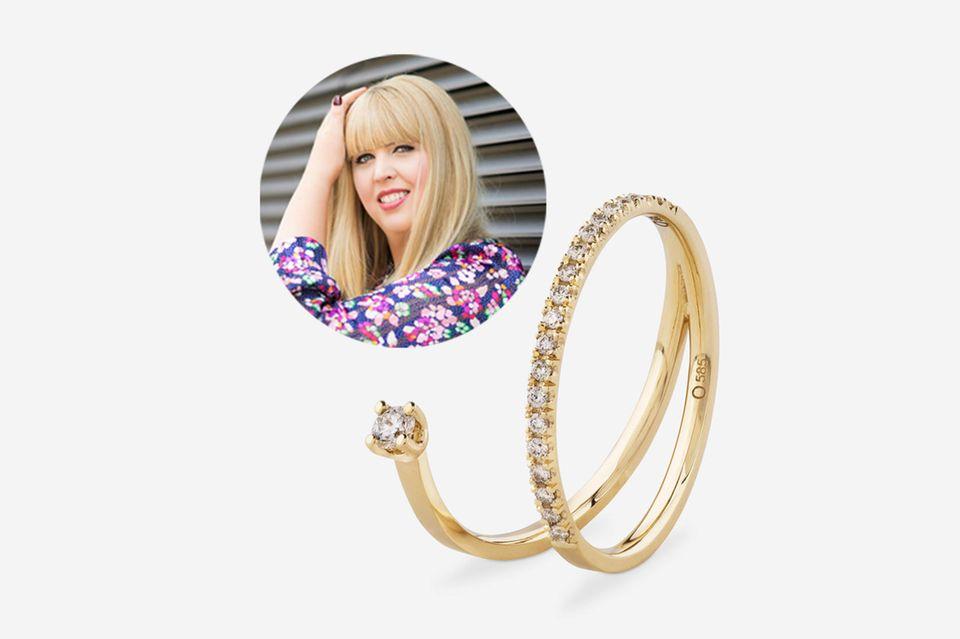"""Wie heißt es so schön: """"Diamonds are a girl's best friend"""" - nicht verwunderlich, dass sich Fashion-Director Nane in diesen Ring verliebt hat."""