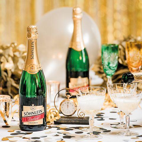 Gewinnspiel: Prickelnder Begleiter: Silvester-Date mit Söhnlein Brillant