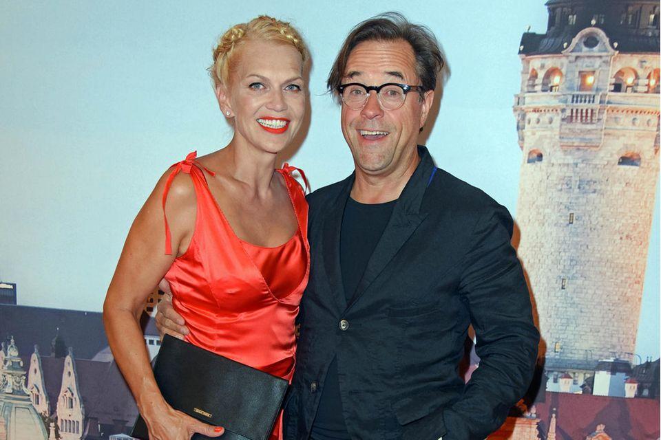 Anna Loos und Jan Josef Liefers