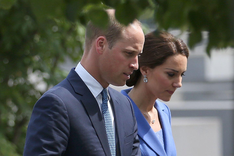 Prinz William und Herzogin Catherine.