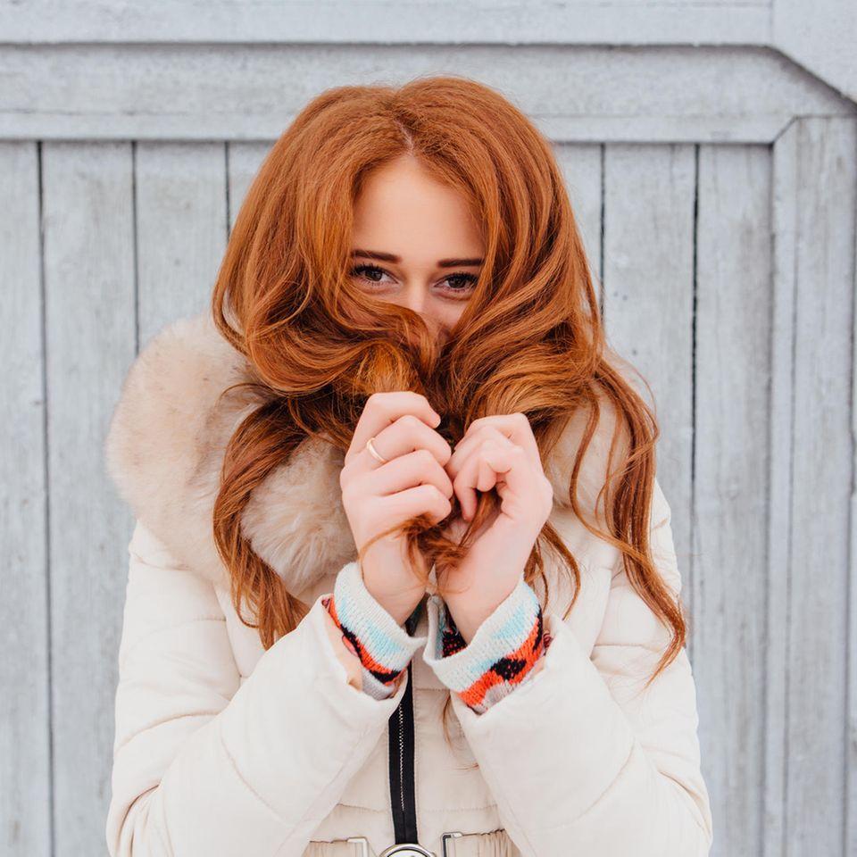 Winter-Haare
