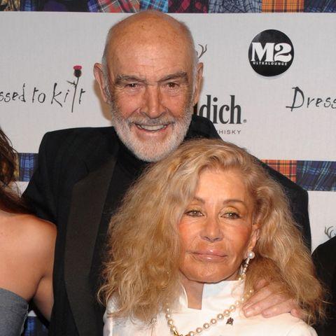 Sean Connery und Micheline Roquebrune