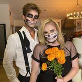 Hollywoodstar Rebel Wilson und ihr Freund Jacob geben ein schaurig-schönes Paar ab.
