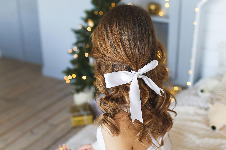 Weihnachtsfrisur