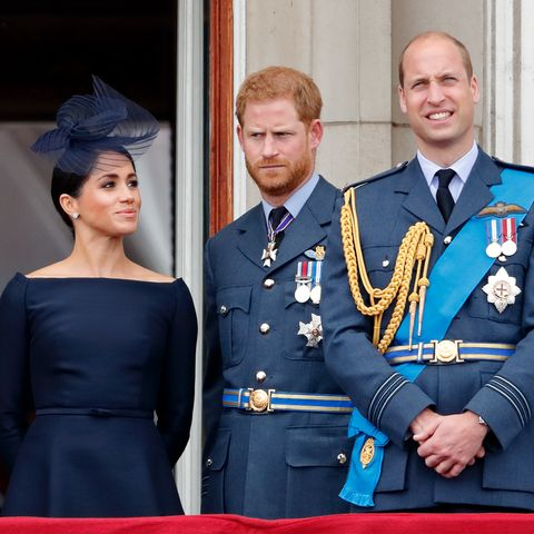 Herzogin Meghan, Prinz Harry, Prinz William