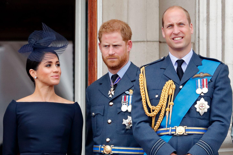Herzogin Meghan, Prinz Harry, Prinz William