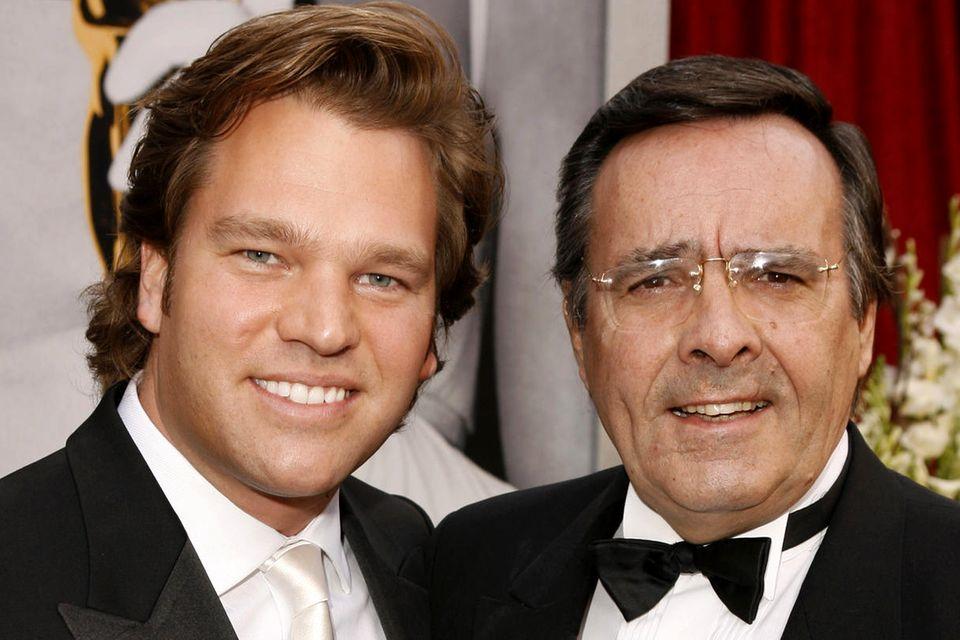 Michael (l.) und Mario Ohoven (†)