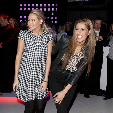"Mandy Capristo und Senna Gammour beim ""new faces award 2009"" in Berlin"
