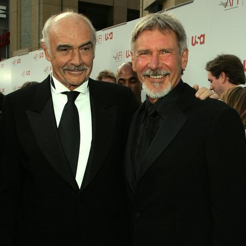 Sean Connery (†) + Harrison Ford